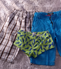Kratke hlače i kupaće 140