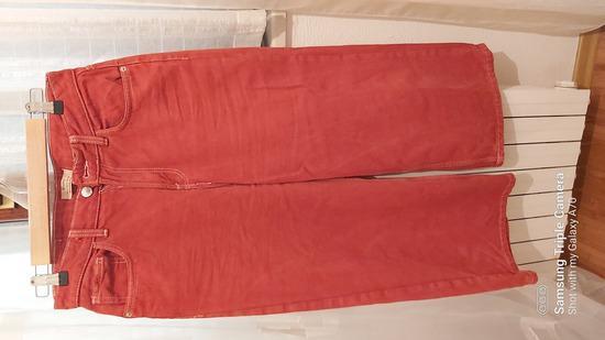 Hlače-crvani jeans