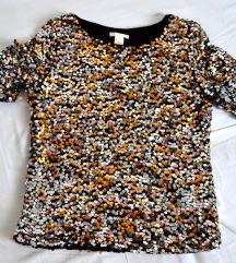 Šljokičasta majica H&M