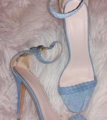 Svjetlo plave sandale
