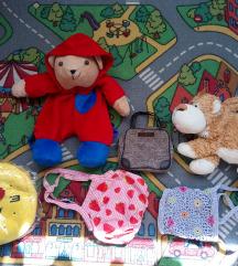 Lot dječjih torbica i ruksaka