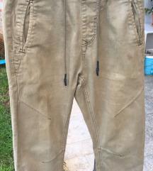 Pull&Bear hlače trenirka stila s gumenim trakicama