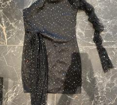 Šljokava kratka haljina