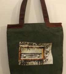 Nova platnena torba iz Indije