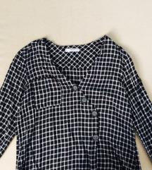 Mango crno-bijela bluza/košulja