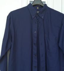 T. plava, muška košulja, L