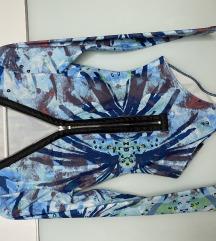 Body - plavi sa šarenim uzorkom