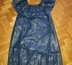 Kožna haljina