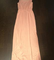 Lot boje breskve - haljina i suknja