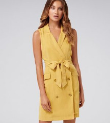 MANGO tux žuta haljina vel S
