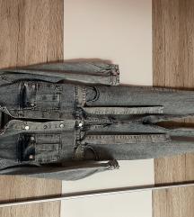 Jeans kombinezon