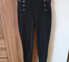 Zara visoki struk crne tajice
