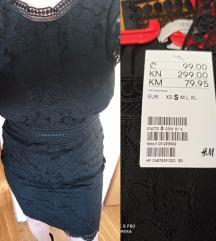 Nova H&M crna haljina