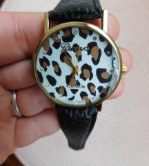 Leopard print ženski sat