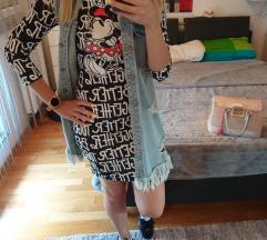 NOVO s etiketom mickey haljina