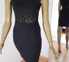 Crna haljina s cipkom