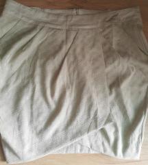 Mini suknja bež