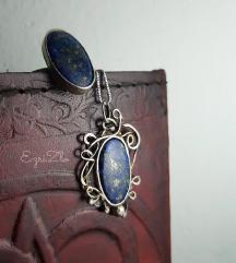 Komplet-lapis lazuli