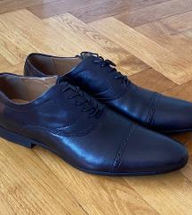 muške crne kožne cipele