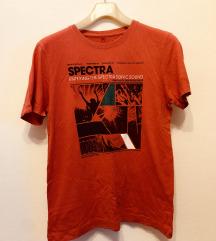Crvena Tom Tailor majica s printom