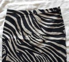 H&M zebra suknja