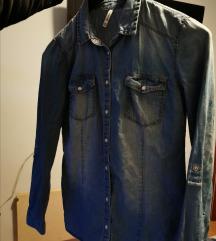 Stradivarius jeans košulja