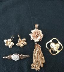 Lot zlatnog nakita