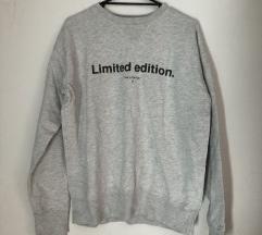 ZARA sivi pulover - LIMITED EDITION