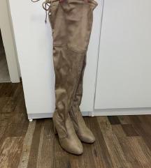Visoke krem čizme