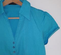 TWOWAY pamučna plava bluzica