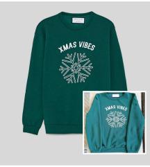 Zara XMAS vibes božićna majica vel M