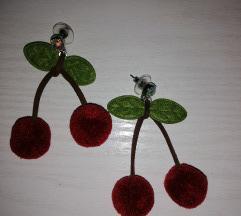 Naušnice trešnje