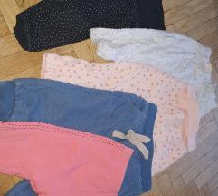 Lot hlačica za djevojčice