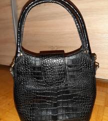 Crna kroko torba
