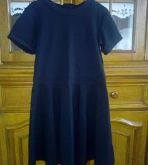 H&M crna mini haljina