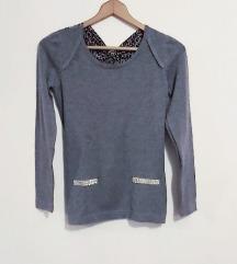 Siva majica sa leopard 🎀
