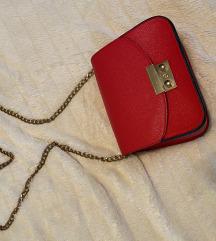 Crvena torba like furla
