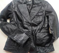 Kožni sako jakna S