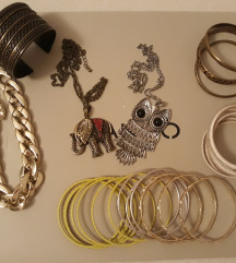 Lot nakita-ogrlice&narukvice