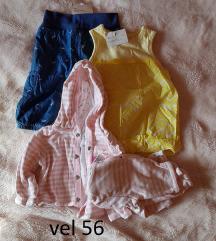 Lot nove odjeće za bebu curu