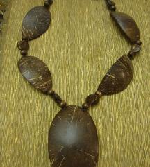 Ogrlica - kokosov orah