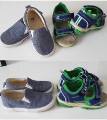 Lot espadrile i sandalice za djecake24/25