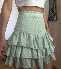 Zara suknja na tockice