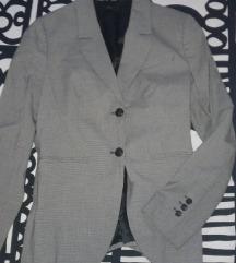 benetton odijelo žensko- pepita uzorak, M