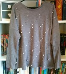 Zara majica s perlama