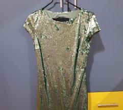 Šljokičasta mini haljina