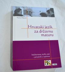 Hrvatski jezik za državnu maturu knjiga