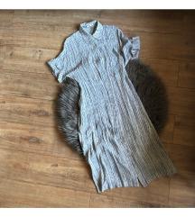 Prugasta haljina Mango