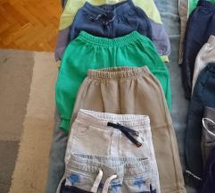 Lot trenirki/hlača za bebe, vel.74/80,6-12 mj.