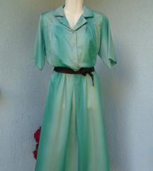 Vintage točkasta haljina